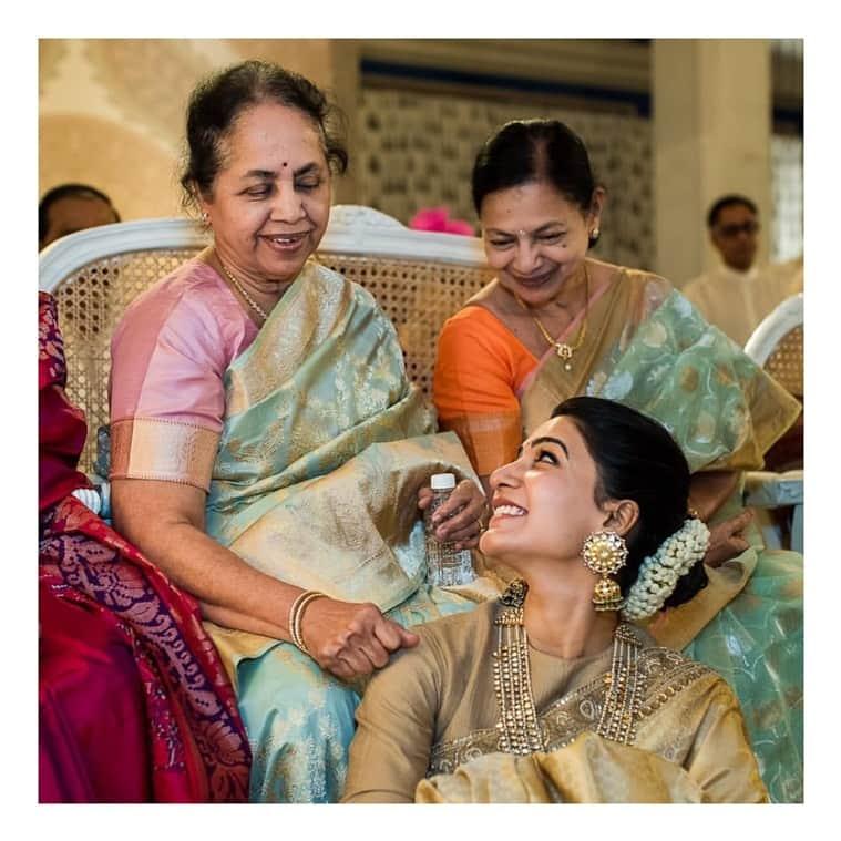 Samantha Akkineni and Naga Chaitanya at Venkatesh daughter wedding