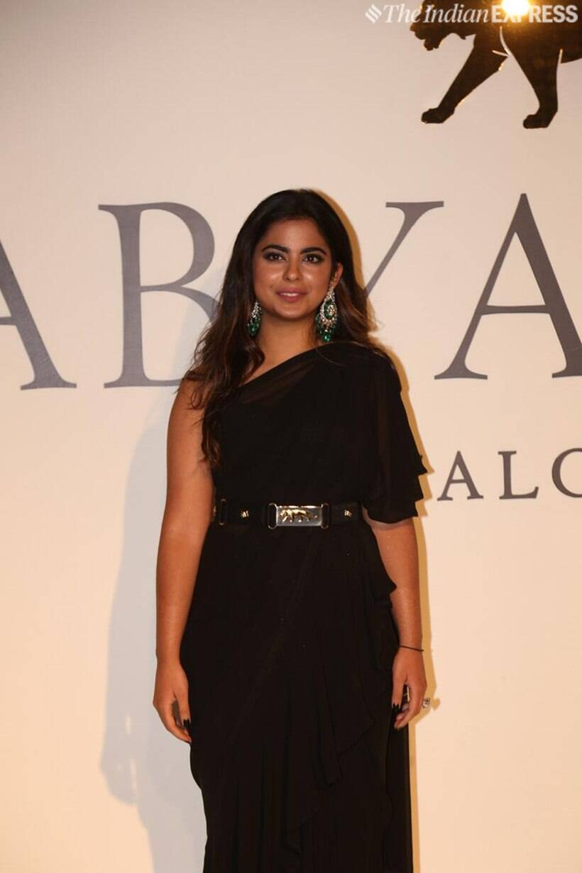 isha ambani at sabyasachi 20 years celebration