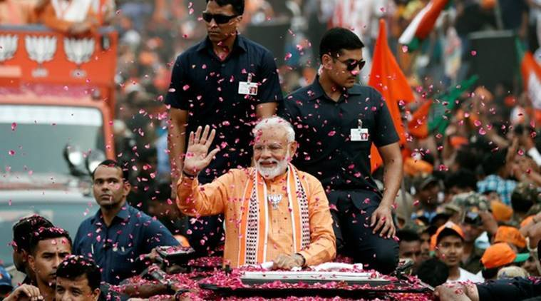 Narendra Modi, Modi in Varanasi, Modi Varanasi roadshow, Sri Lanka bomb blasts, Sri Lanka attacks, Modi on Sri Lanka attack, Lok Sabha elections 2019