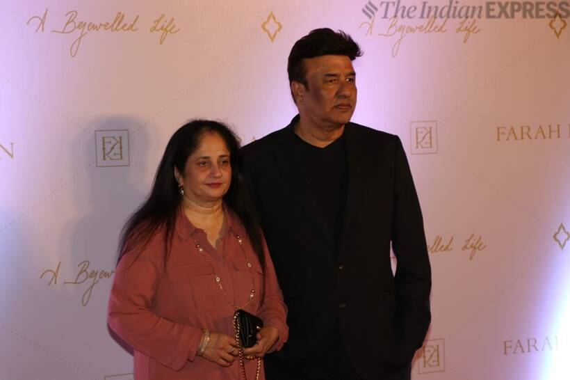 Anu Malik graced the launch of Farah Khan: A Bejewelled Life