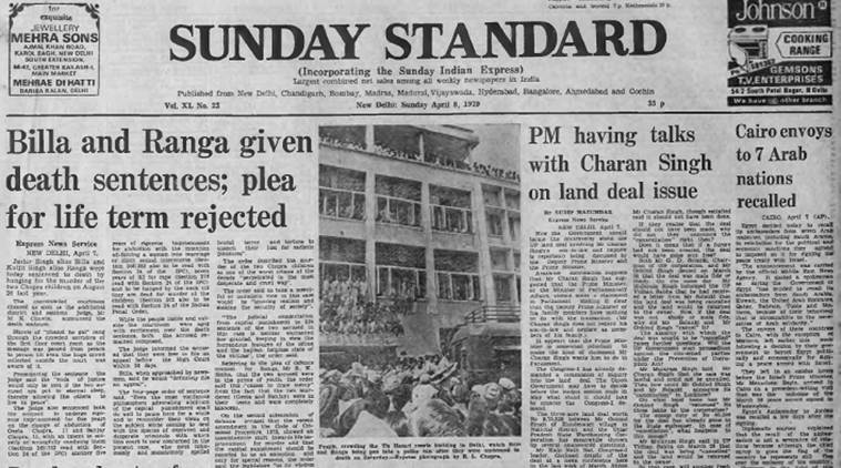 Billa, Ranga, Iran ex-PM shot,Amir Abbas Hoveida, Z A Bhutto, forty years ago, Z A Bhutto hanging, protest against Z A Bhutto hanging, Pakistan, indian express