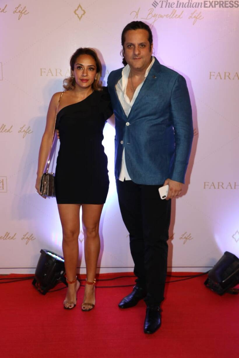 fardeen khan at farah ali khan book launch