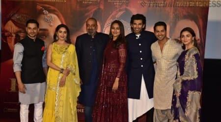 kalank trailer launch with alia bhatt, varun dhawan, sanjay dutt, madhuri dixit, aditya roy kapur, kunal kemmu, sonakshi sinha