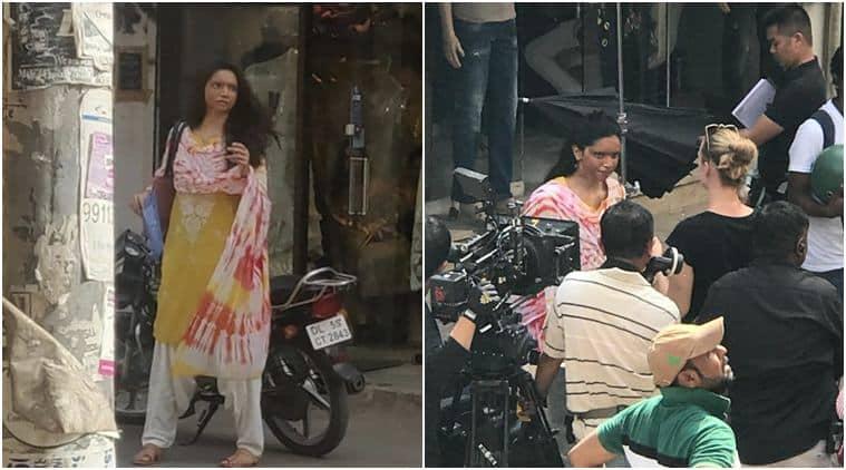 Deepika Padukone captured whole shooting for Chhapaak