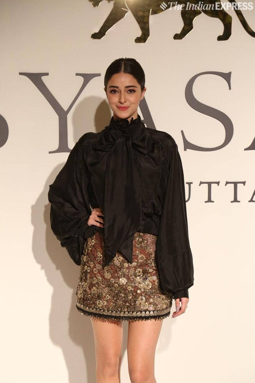 ananya panday at sabyasachi 20 years celebration