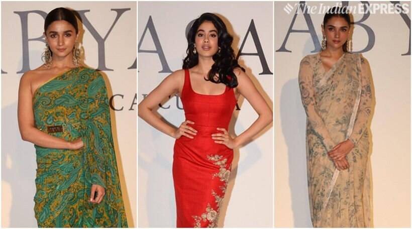 Alia Bhatt, Aditi Rao Hydari, Janhvi Kapoor and others attend Sabyasachi's special bash