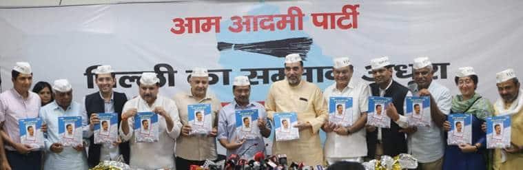 Rahul Gandhi will be responsible if Modi govt returns, says Kejriwal at AAP manifesto release