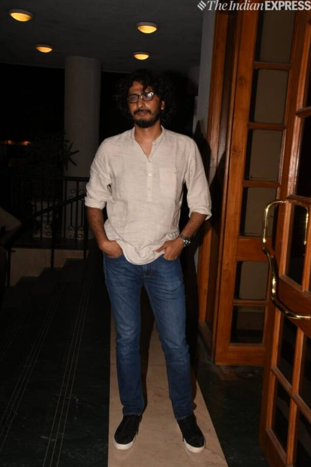 abhishek chaubey at Manoj Bajpayee birthday