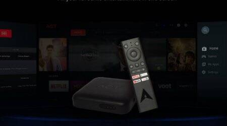 ACT Fibernet, streaming device, ACT Stream TV 4K device, TV channels, ACT Stream 4K, OTT channel, ACT Stream 4K box, Android-powered