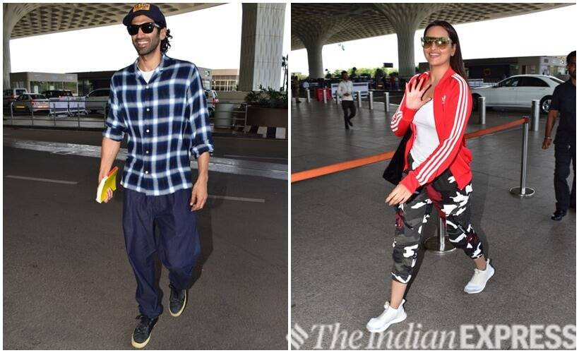 Aditya Roy Kapur and Sonakshi Sinha
