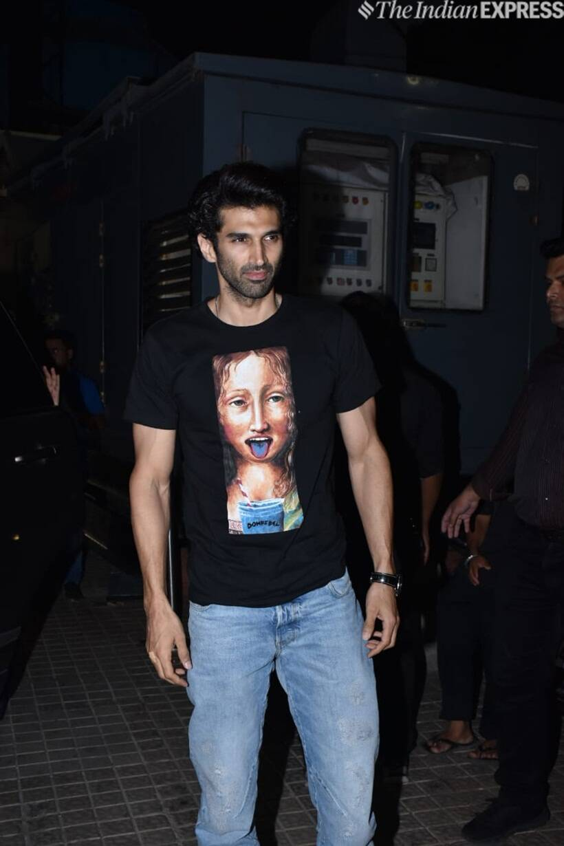 aditya roy kapur at kalank screening