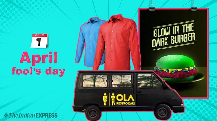april fool's day, april fool's day pranks, april fool's day tricks, april fool's day celebration, OLA, snapdeal, mcdonalds, pranks, funny pranks, twitter reactions, indian express, indian express news