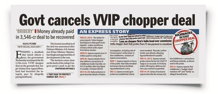 ED to court: Kickbacks paid, top UPA leaders pushed Agusta deal; election stunt by Govt, says Congress
