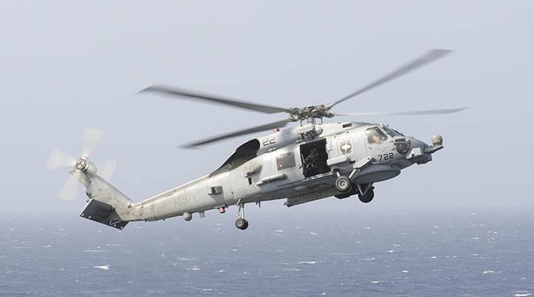 US approves sale of 24 MH 60 Romeo Seahawk helicopters to India for .4 billion