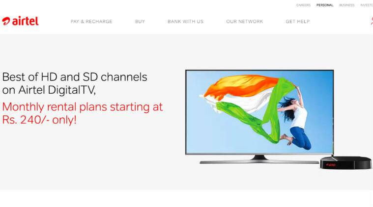 Airtel Digital TV channel packs, plans and prices: All you need to know