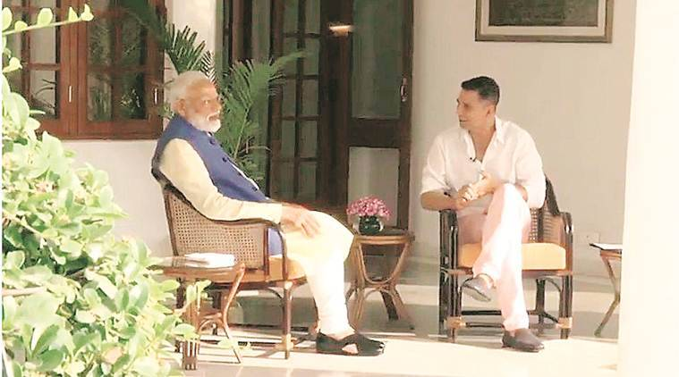 lok sabha elections 2019, lok sabha elections, narendra modi, pm modi, pm modi interview, pm modi akshay kumar interview, ani, akshay kumar, netflix, indian express news