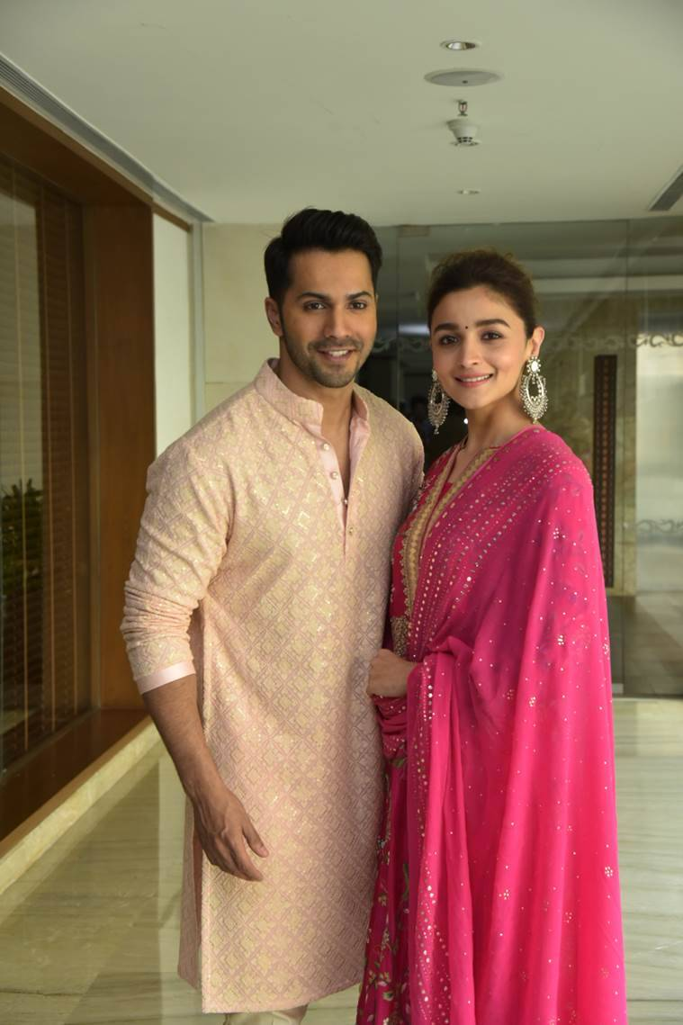 Kalank, alia bhatt, varun dhawan, film, promotion, indian express