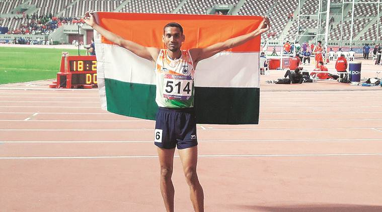 Ajay Kumar Saroj, Asian Athletics Championships, Asian Athletics Championships Ajay Kumar Saroj, Doha Ajay Kumar Saroj, Ajay Kumar Saroj medal, sports news