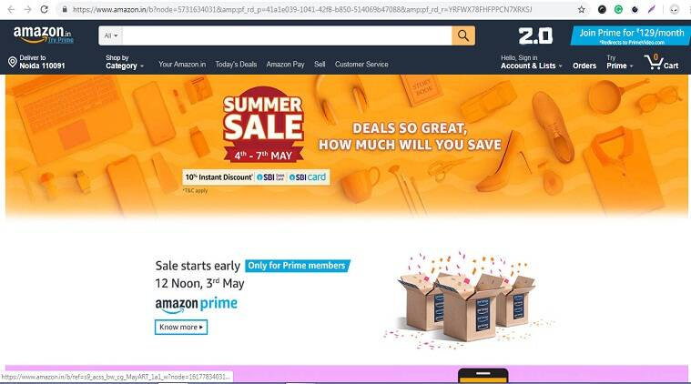 Amazon Summer Sale From May 4: Offers On Oneplus, Samsung, Redmi And More