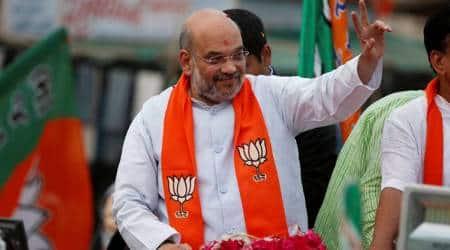 Amit Shah, jaya prada, azam khan, sp, bjp candidate, lok sabha elections, azam khan jaya prada comment, khaki underwear comment, azam khan comment on jaya prada, indian express