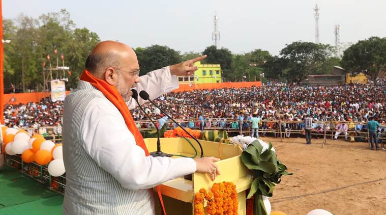 Amit Shah in west bengal