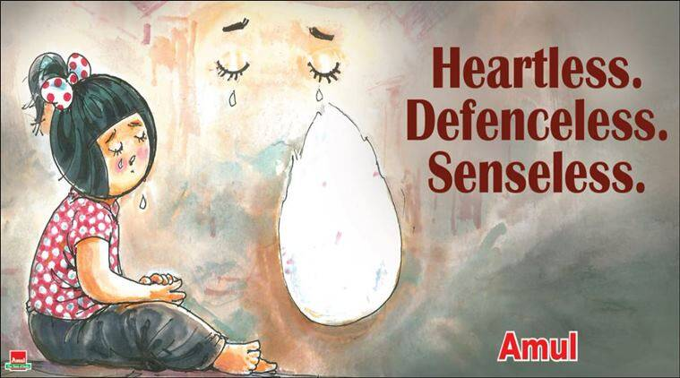 sri lanka, sri lanka attack, sri lanka serial blasts, sri lanka easter attack, amul cartoon, amul topical, latest amul cartoon, sri lanka amul cartoon, indian express