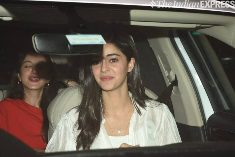 ananya panday at kalank screening