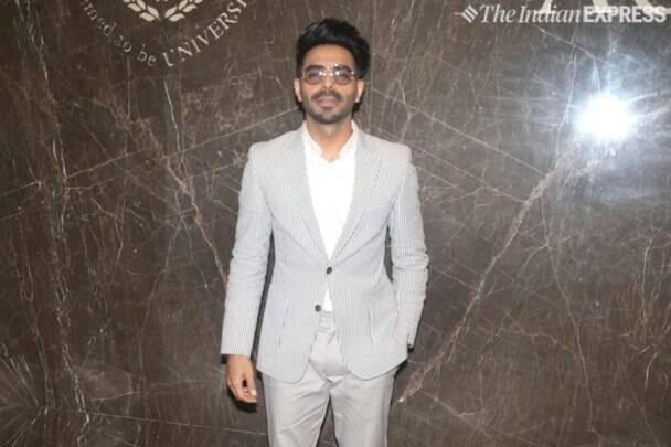 Aparshakti Khurana at Dadasaheb Phalke Excellence Awards 2019