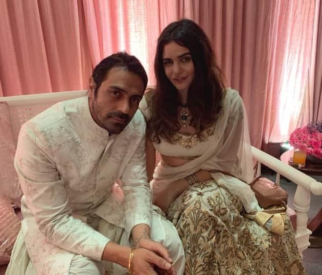 Arjun Rampal, girlfriend Gabriella Demetriades 1