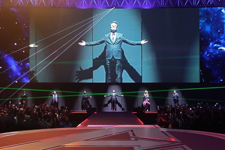 Robert Downey Jr Avengers Endgame fan event south korea
