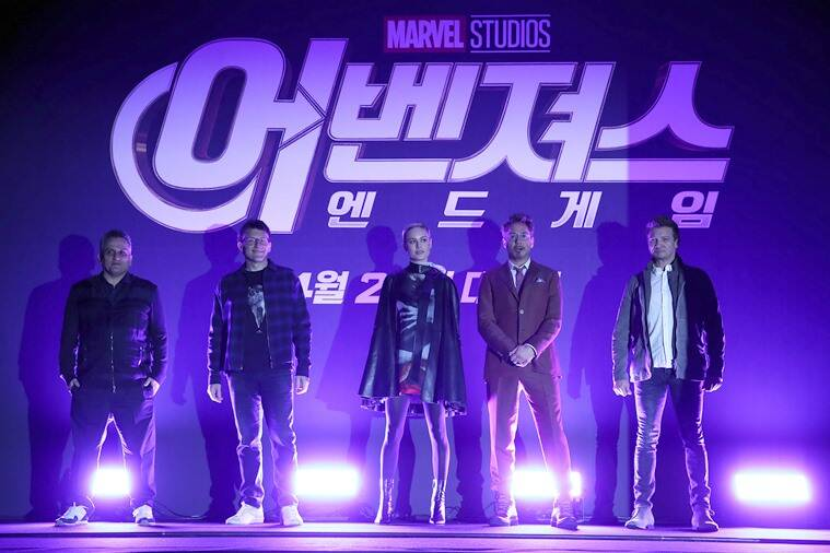 Avengers Endgame press tour South Korea Seoul