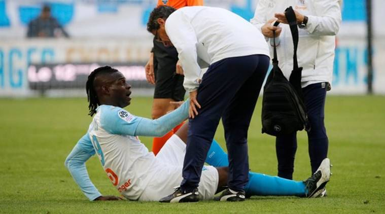 Mario Balotelli injured