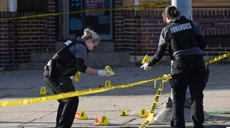 Gunman fires at crowd in Baltimore, injures seven people, say police