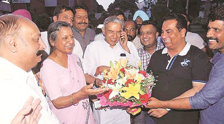For Chandigarh battle, Congress picks old warhorse Pawan Bansal