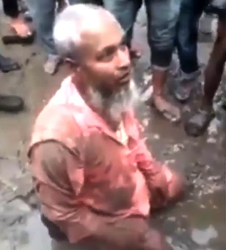 Assam: Targeted for 'selling beef', man force-fed by mob
