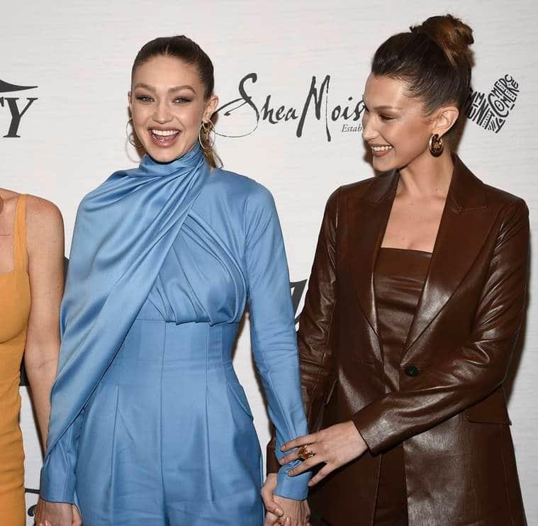 Gigi Hadid, Bella Hadid, boss lady vibes, power dressing, Variety's Power of Women 2019