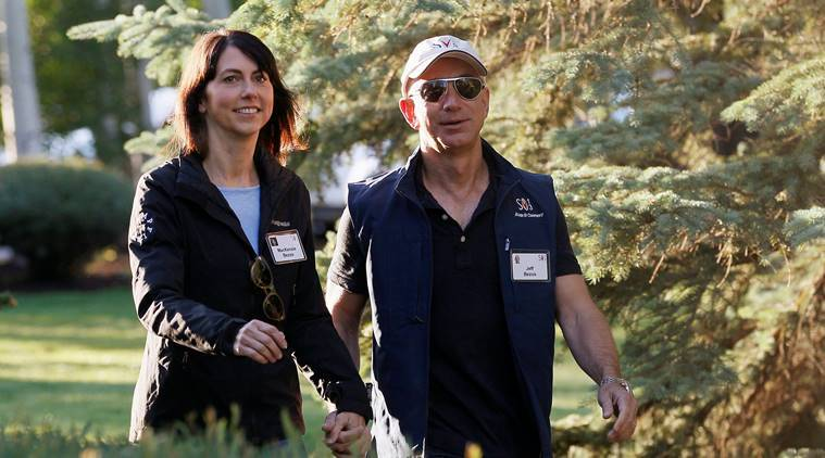 MacKenzie Bezos to be fourth-richest woman after divorce