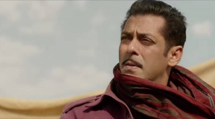salman khan bharat photos look