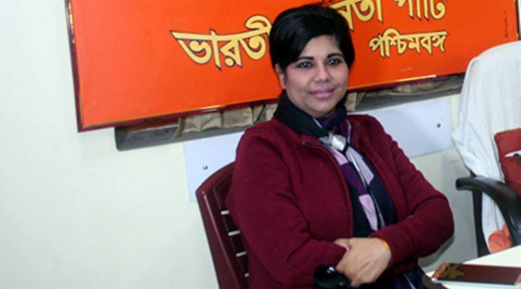 Bharati Ghosh accuses TMC of attacking her car, party denies
