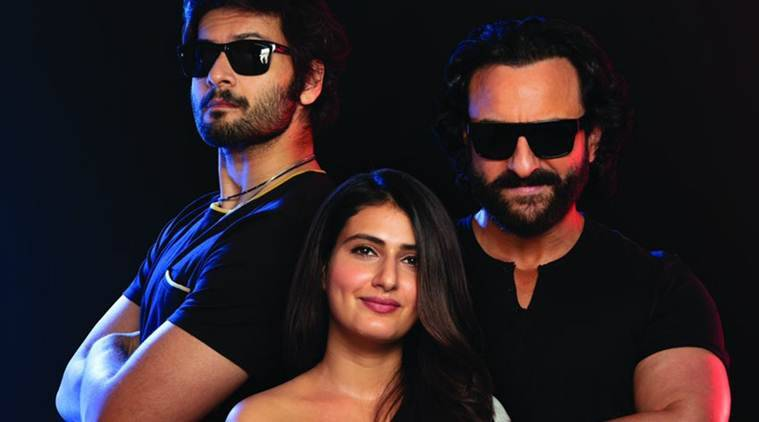 Bhoot Police first look: Saif Ali Khan is a ghost hunter