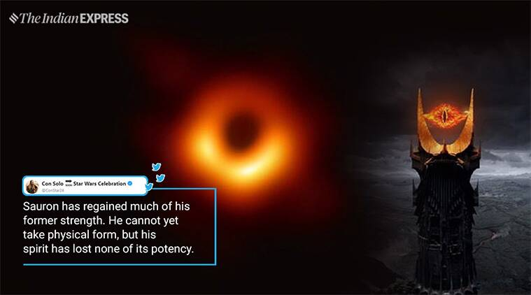 First Photo Of Black Hole Inspires Memes From Eye Of Sauron To