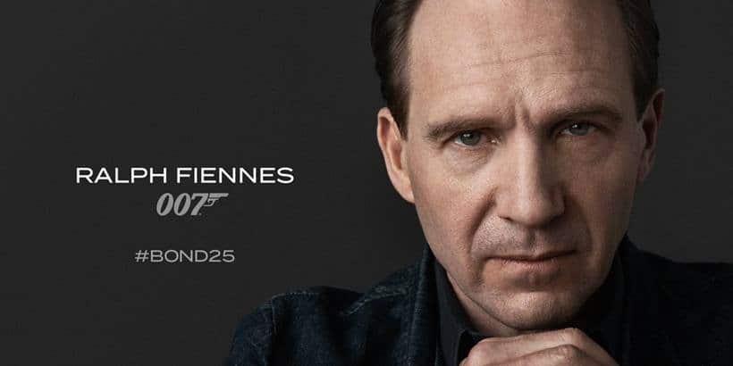 Ralph Fiennes in Bond 25