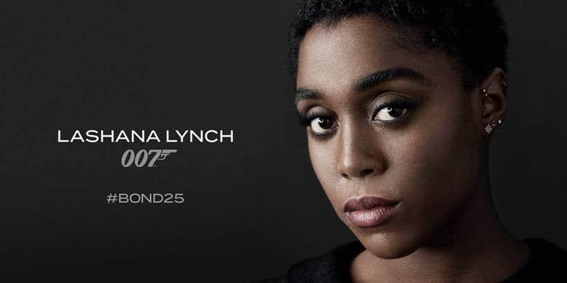 Lashana Lynch in Bond 25