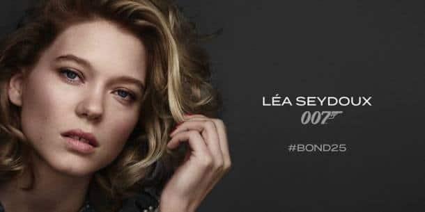 Léa Seydoux in Bond 25