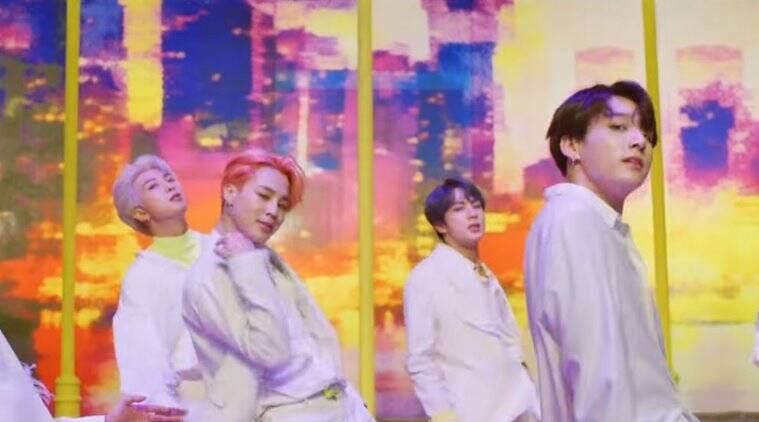 K Pop Group Bts Breaks Record For Youtube Views With Single Boy With Luv Entertainment News The Indian Express
