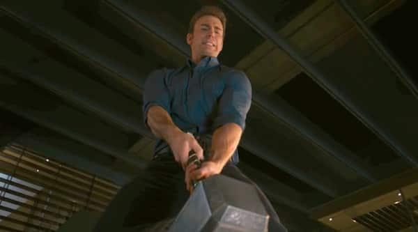 Captain America Thor Mjolnir
