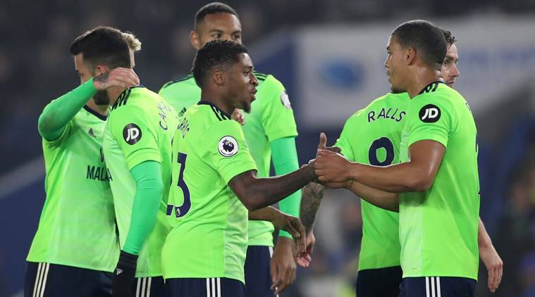 Cardiff City beat Brighton 2-0 in key relegation duel