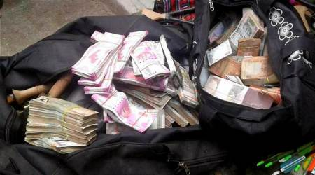 punjab police, mohali court, cash recovered from jalandhar priest, fraud case, corruption act, punjab news, indian express news