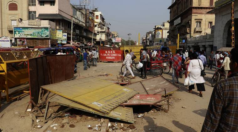 Amid reservations from traders, officials say will power through Chandni Chowk project