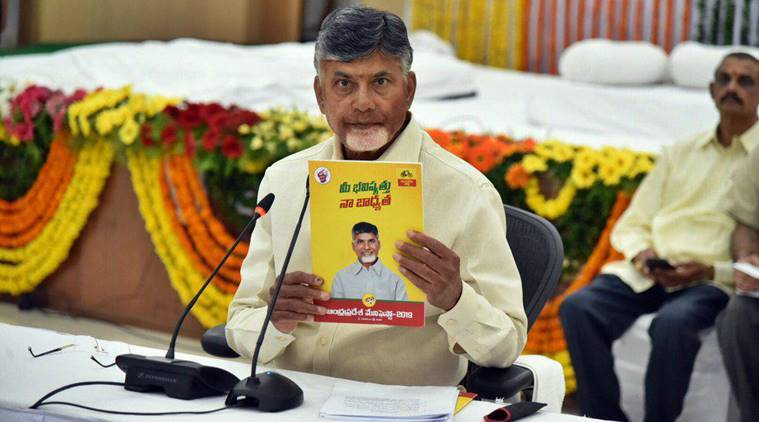 Image result for chandrababu naidu debacle